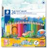 NORIS PENCILS AQUARELL Watercolour Assorted Pack of 24
