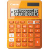 Canon LS-123KM Desktop Calculator 12 Digit Orange