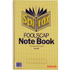 Spirax 594 Notebook 200x322mm Foolscap 120 Page Side Opening