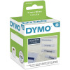 DYMO LABELWRITER LABELS Paper Filing 12x50mm White Box of 220