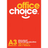 OFFICE CHOICE LAMINATING POUCH A3 80 micron Box of 100