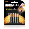 Duracell Coppertop Battery AAA Pack of 4