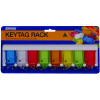 Kevron Key Tag Rack Id5 8 Tag Rack With 8 Assorted Tags Pack Of 8