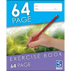 SOVEREIGN EXERCISE BOOK 8MM Ruled 225mm x 175mm 64 Page