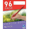 Sovereign Exercise Book 225x175mm 8mm Ruled 96 Page