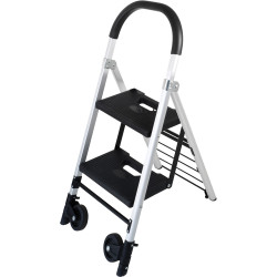 Durus Folding Ladder Trolley 2 Step