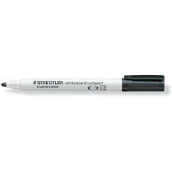 Staedtler 341 Lumocolor Whiteboard Marker Bullet 1-2mm Box of 10 Black