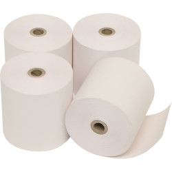 MARBIG REGISTER ROLLS 76mm x 76mm x 11.5mm 2Ply Pack of 4