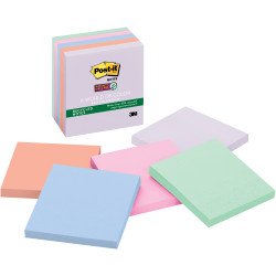POST-IT SUPER STICKY NOTES 654-5SSNRP 76mm x 76mm Bali 450 Notes
