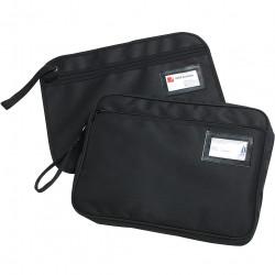 Marbig Convention Satchel 390x290mm Fabric Zippered Black
