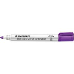 Staedtler 351 Lumocolor Whiteboard Marker Bullet 2mm Purple Box of 10