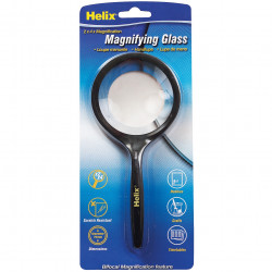 HELIX MAGNIFYING GLASS 75mm 2X Magnifacation