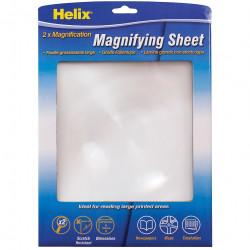 HELIX A4 MAGNIFYING SHEET A4, 210x280mm