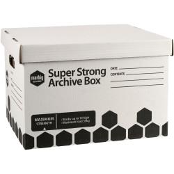 Marbig Archive Box Super Strong L420mm x H260mm X W320Mm