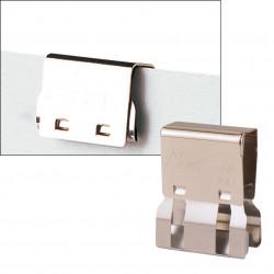 CARL MC52 MORI CLIP 30 Sheet Cap. Silver Box of 50
