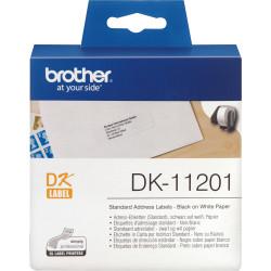 BROTHER DK-11201 ADDRESS LABEL Standard 29X90mm White Box of 400