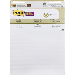 POST-IT SUPER STICKY EASEL PAD 559-RP Recycled 635mm X 775mm