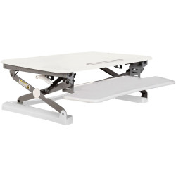 RAPID RISER WORKSTATION W680mm X D590mm Small - White