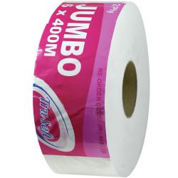 TRUSOFT JUMBO TOILET ROLLS 2 Ply 400 Metres Carton of 6