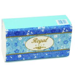 REGAL GOLD PREMIUM HAND TOWEL Slimline 225x230mm Pack of 16 200sheets Per Pack