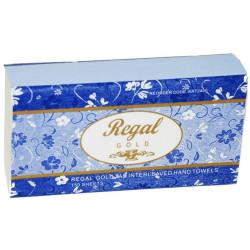 REGAL GOLD PREMIUM HAND TOWEL Ultraslim 230x235mm Pack of 16 150sheets Per Pack