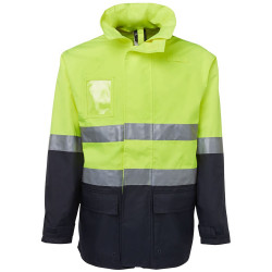 ZIONS 6DNLL HIVIS SAFETY WEAR Day & Night L/Line Jacket