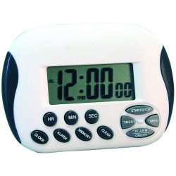 JASTEK DIGITAL TIMER 2Timers White/Grey