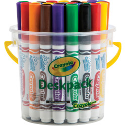 Crayola Ultra Clean Washable Broadline Marker Classic Assorted Pack of 32