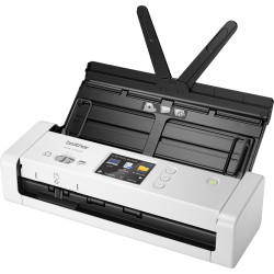BROTHER ADS-1700W PORTABLE Document Scanner 25PPM with LCD Display & Wireless